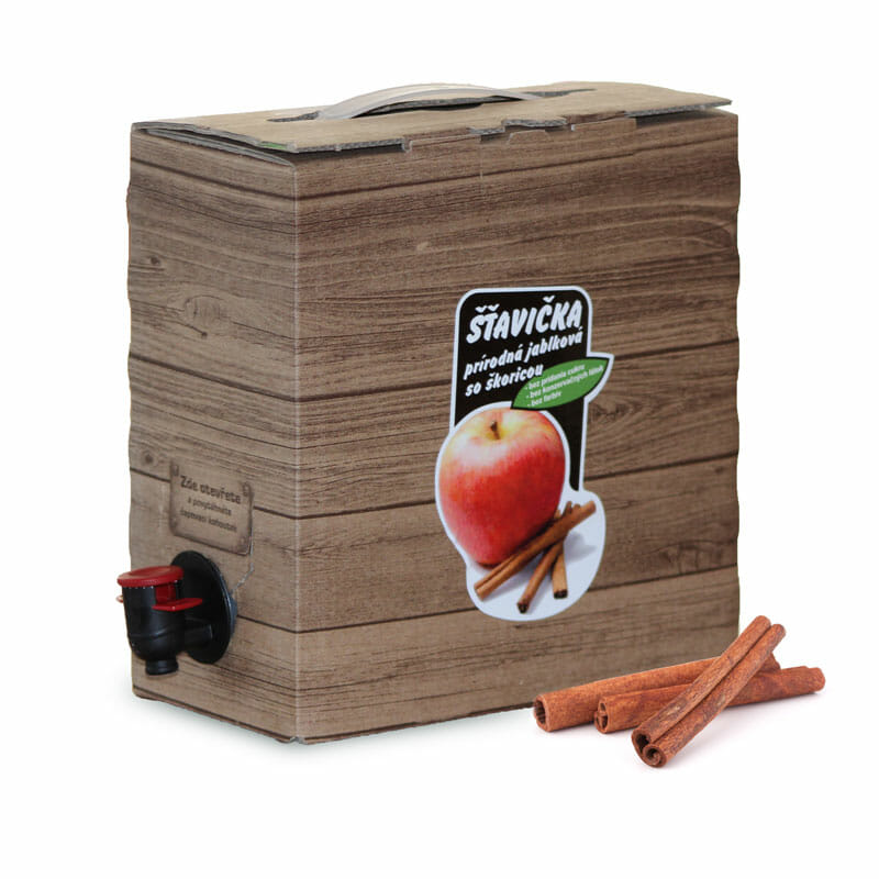 100% Jablková šťava so škoricou