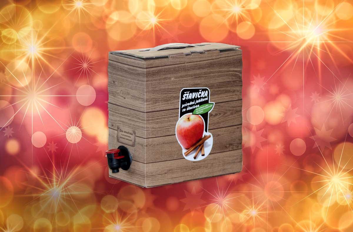 jablková šťava so škoricou
