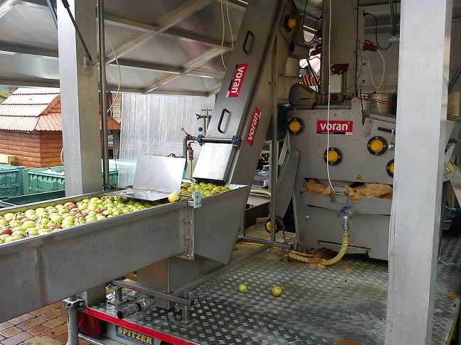 Dopravník jabĺk