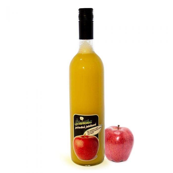 100% prírodná jablková šťava